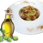 Spaghetti aglio, olio, Zampone Modena IGP e… Pecorino