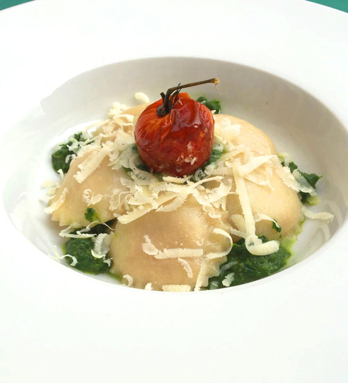 Raviolo in Costiera, ricetta