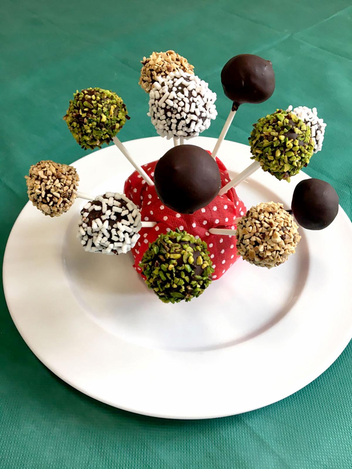 Lollipop di Cotechino Moena IGP con cioccolato