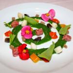 Spirale di insalata estiva