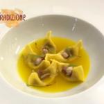 Casoncelli ripieni di Zampone Modena IGP con consommé di zafferano