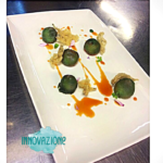 Cotechino K: Cotechino Modena IGP, tapioca e pomodoro