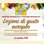 Scarica il nuovo ricettario: Lezioni di gusto europeo