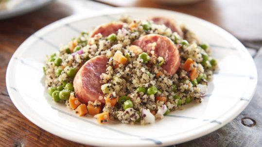 Insalata di quinoa con Cotechino
