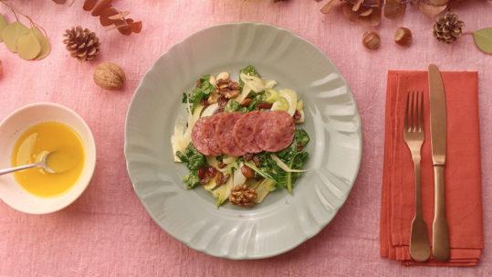 Cotechino Modena IGP con insalata invernale